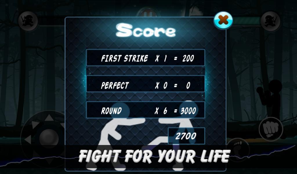 火柴人格斗暗影战士手游(stickman fight) v1.8 安卓版 0