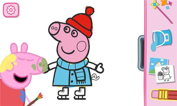 小猪佩奇学画画游戏 v1.2.7 安卓版图片