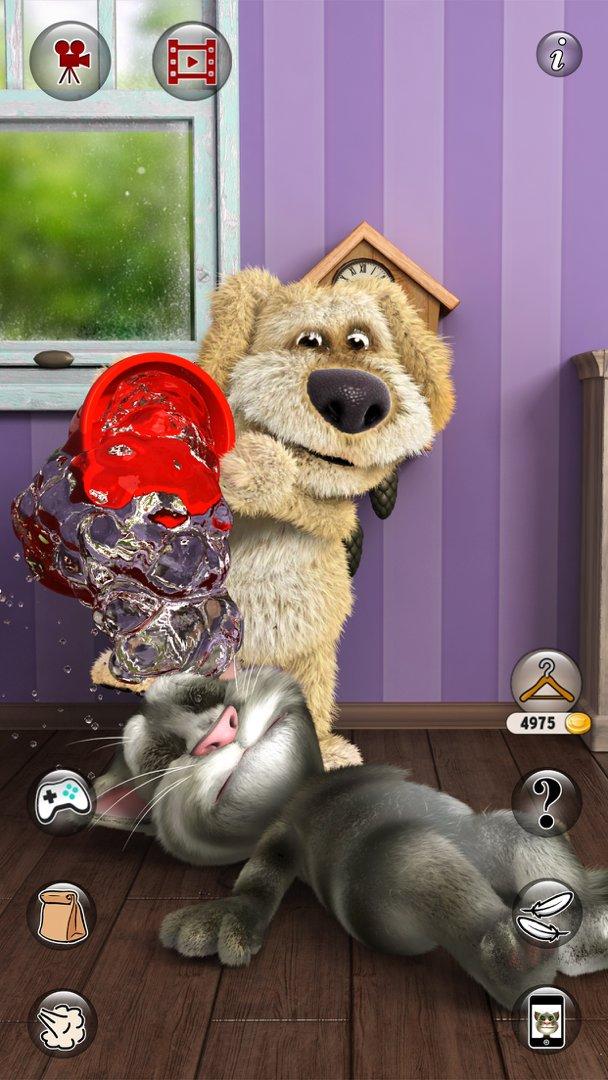 会说话的汤姆猫2无敌版 v5.3.2.18 安卓版 0