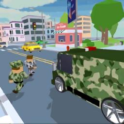 像素军队游戏