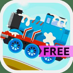恐龙火车司机游戏