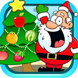 儿童圣诞树装扮手机游戏