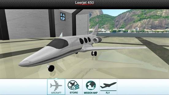 极限模拟飞行中文破解版 v3.2 安卓无限金币版 1