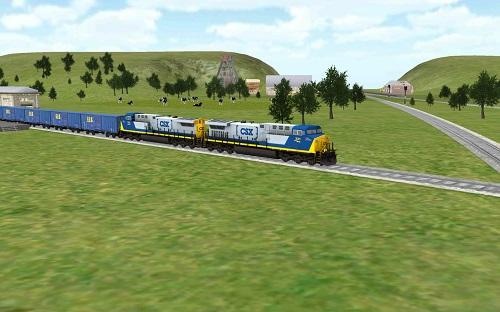 3d模拟火车完整版(trainsim) v4.1.9 安卓中文版0