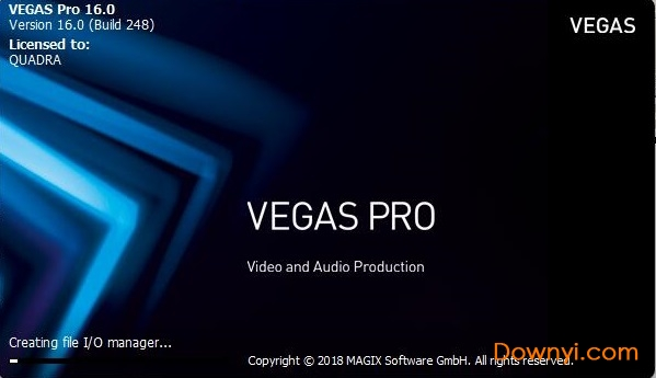 vegas pro 16破解�a丁永久激活版 免�M版 0