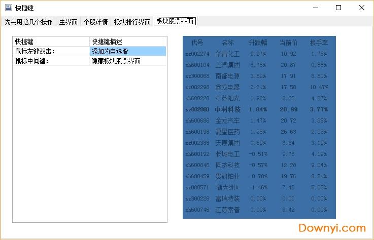 �{光迷你股票(桌面股票行情�件) v11.9 �G色最新版 1