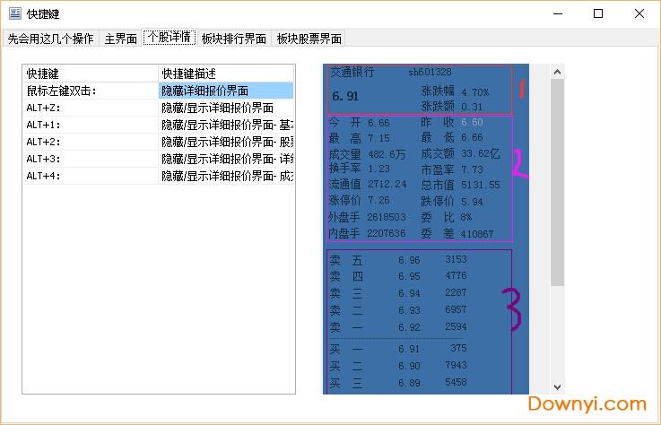�{光迷你股票(桌面股票行情�件) v11.9 �G色最新版 3
