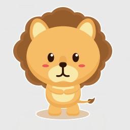 小皇狮动图表情包