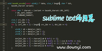 sublime text编辑器