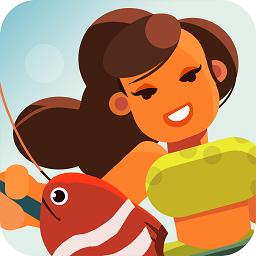 钓鱼少女无限金币版