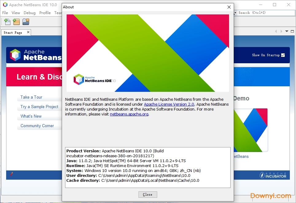netbeans10最新版 v10.0 绿色版 0