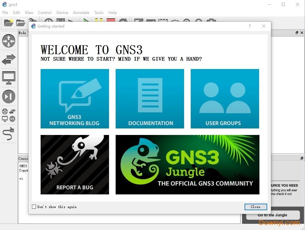 gns3模�M器 v2.2 安�b版 0