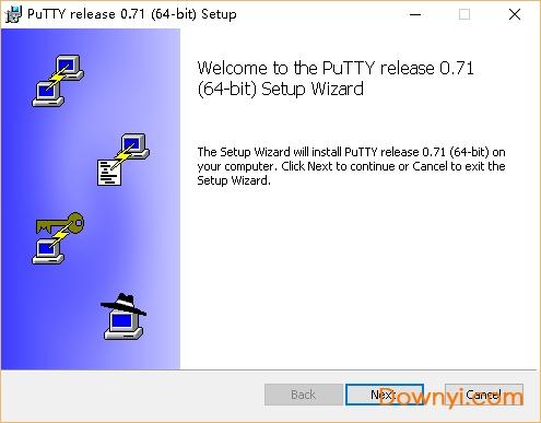 PuTTY客户端(ssh远程登录工具) v0.71 64位绿色版 1