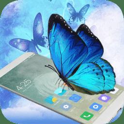 蝴蝶在手机飞舞中文版(butterfly in phone)