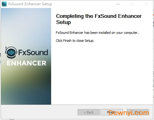 fxsound enhancer中文版