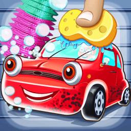 宝宝爱洗车小游戏