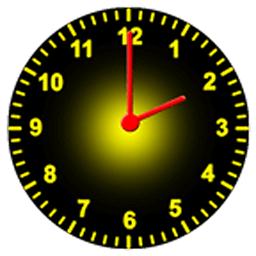 罗马数字时钟软件(steampunk clock widget)