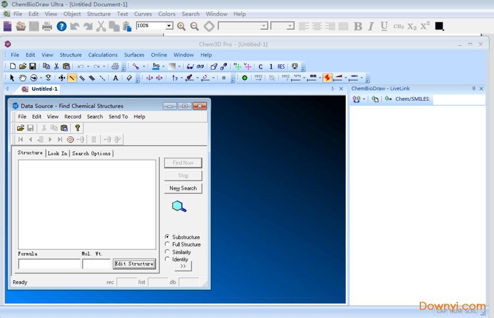 ChemOffice中文版破解版 v19.0.0.22 免费版 0