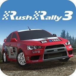 拉什拉力�3�o限金�虐�(Rush Rally3)