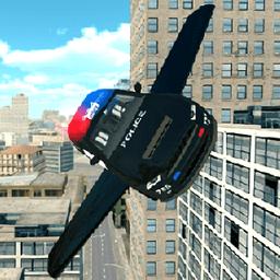 警用飞车模拟器游戏