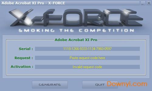 Adobe Acrobat XI Pro注册机  0