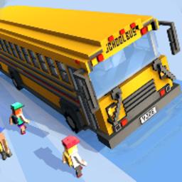 像素校车模拟手游(school bus game)