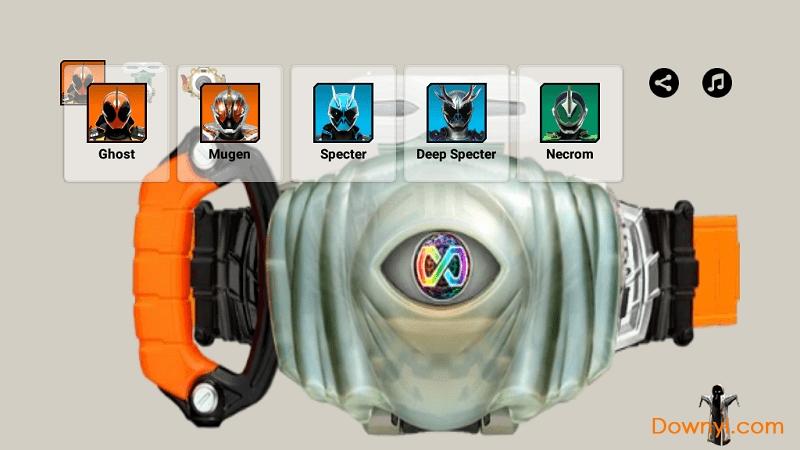 假面手机ghost腰带模拟器骑士版(ghostbelt)v1送小羊回家2安卓图片