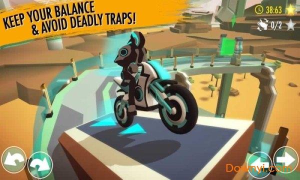 重力骑手中文内购破解版(gravity rider) v1.14.22 安卓无限金币版