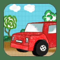 蜡笔赛车手游(crayon car)