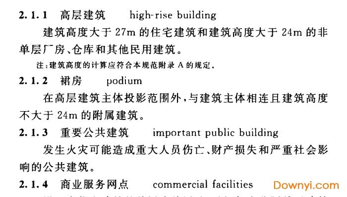 gb50016-2018建筑设计防火规范 pdf版 0