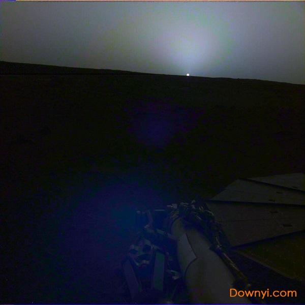 火星日出日落照片最新版