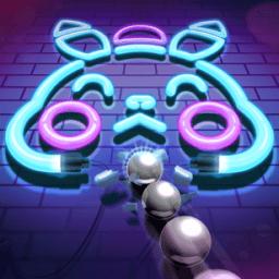 爆射霓虹灯游戏