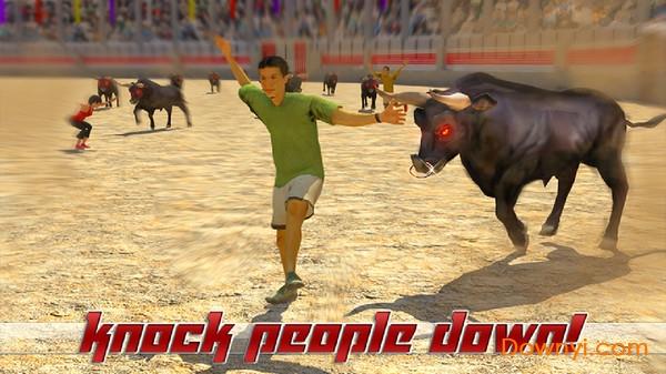 愤怒公牛模拟器游戏