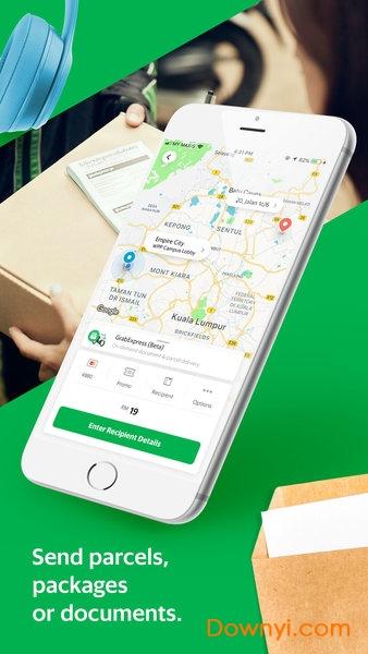 苹果版grab打车 v5.48.0 iphone最新版 0