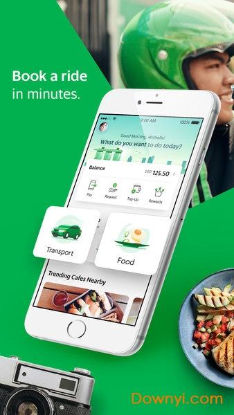 苹果版grab打车 v5.48.0 iphone最新版 2