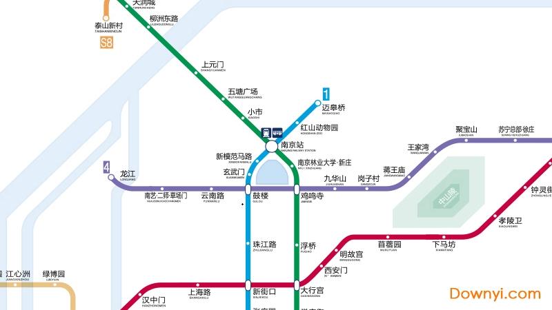 2019最新南京地铁运营线路图 放大版 0