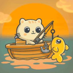 贪吃猫钓鱼手游