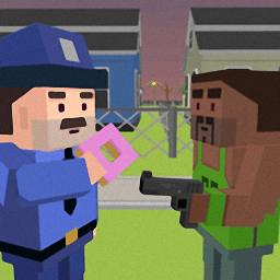 魔方警察vs匪徒汉化版(cube police vs ganster)
