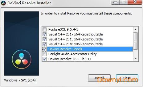 �_芬奇16�h化破解版(davinci resolve 16) v16.0.0b.017 最新版 0