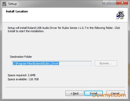 罗兰rubix22驱动 v1.0.7 官方版 0