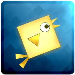 几何方块鸟手机版游戏(squarebird)
