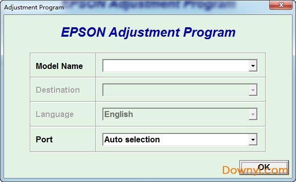爱普生me330打印机清零软件