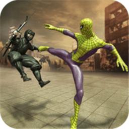 飞蜘蛛忍者战争英雄游戏