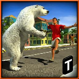 愤怒的熊的攻击游戏