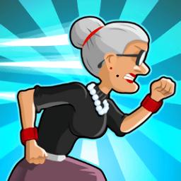 愤怒的老奶奶快跑无限金币中文版