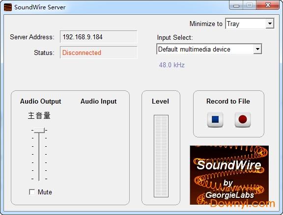 SoundWireserver官方版(手�C同步��X�音) 免�M版 0