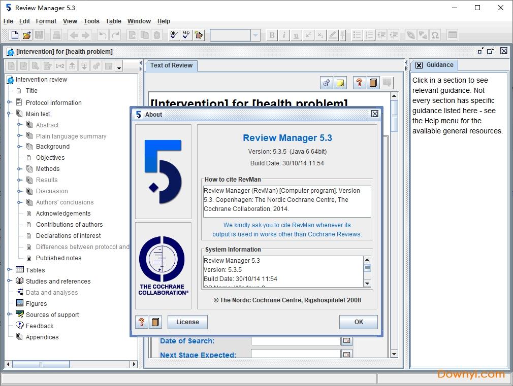 revman中文版 v5.3.5 官方版 0