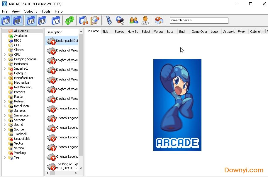 Arcade汉化版模拟器 v0.193 电脑版 0
