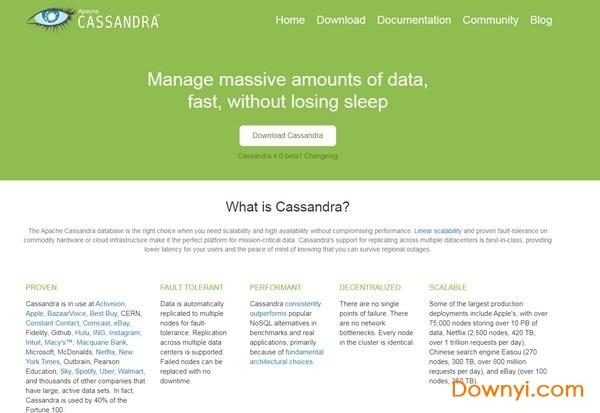 Apache Cassandra数据库管理系统 v3.11.7 最新版 0