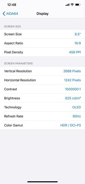 AIDA64苹果手机版 v1.37 iPhone版1